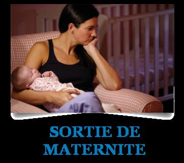 Sortie de maternité